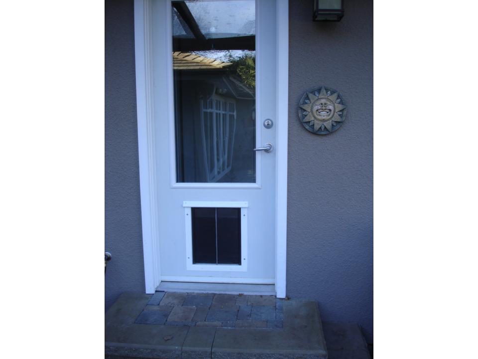 Installations And Pics Dog Doors Cat Doors Pet Doors