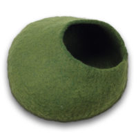 green cat cave